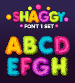 Vector color illustration sign a, b, c, d, e, f, g, h.