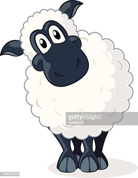Illustrations et dessins anim s de mouton getty images - Mouton dessin anime ...