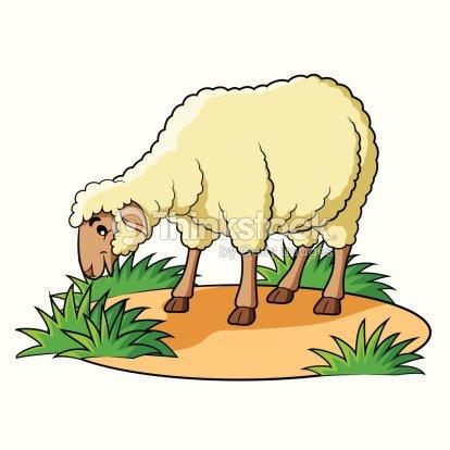 Dessin anim mouton clipart vectoriel thinkstock - Mouton dessin anime ...
