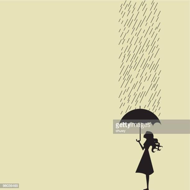 Hoja de tipo lluvia