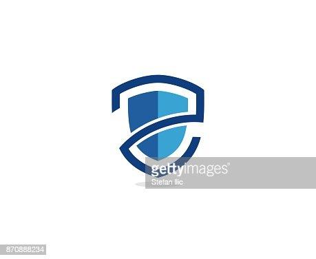 Shield icon : stock vector