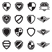 Different Shield Illustrations