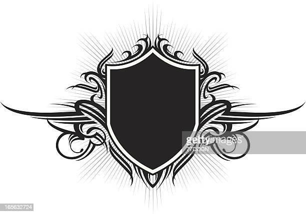 shielded emblem