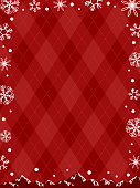 shining snow crystal background for winter