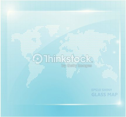 Shiny glass world map wallpaper vector art thinkstock shiny glass world map wallpaper vector art gumiabroncs Image collections
