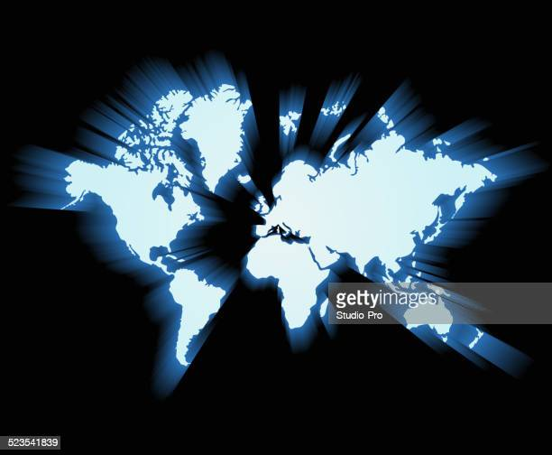 Shiny world map