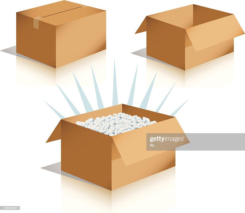 Shipping Boxes [vector] : Vector Art