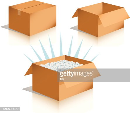 Box Container Vector Art and Graphics   Getty Images