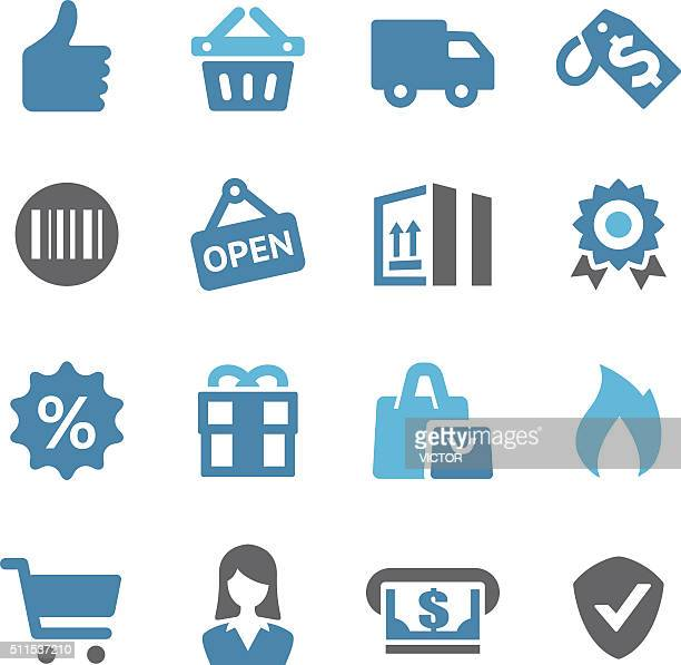 Shopping and Buying Icon - Conc Series