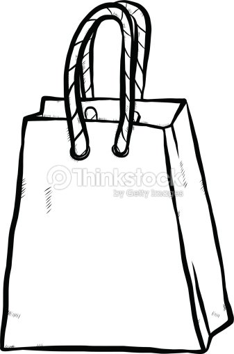 sac dessin anim clipart vectoriel thinkstock. Black Bedroom Furniture Sets. Home Design Ideas