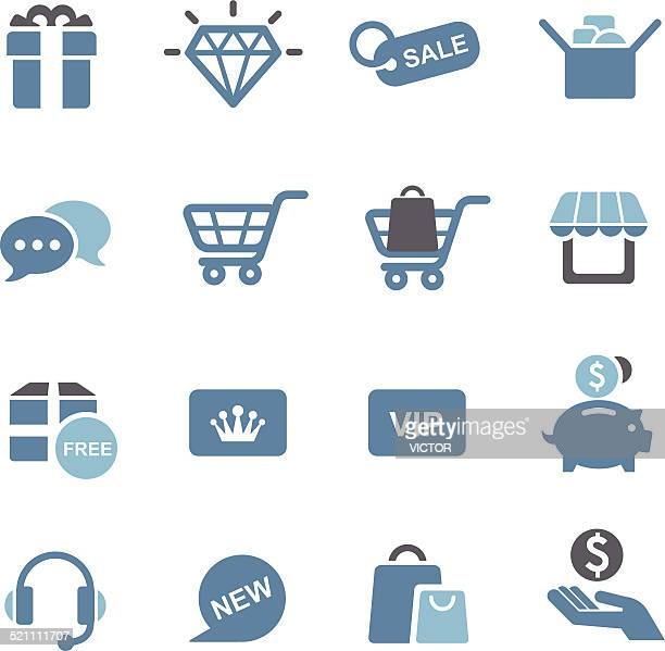 Shopping Icons - Conc Series