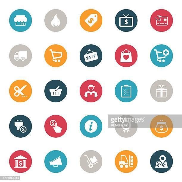Icônes Shopping