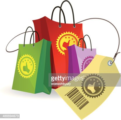 Shopping Packages Vector Art Getty Images