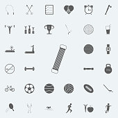 shoulder expander icon. Detailed set of Sport icons. Premium quality graphic design sign. One of the collection icons for websites, web design, mobile app on white background