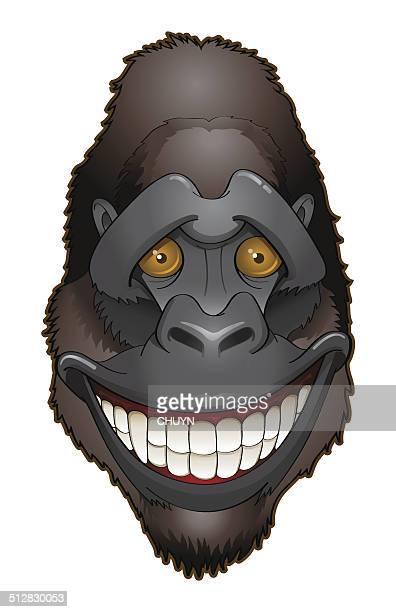 Shy gorilla