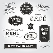 signs and symbols french restaurant