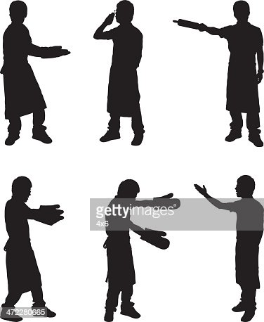 Silhouette Baker Chef Vector Art | Getty Images