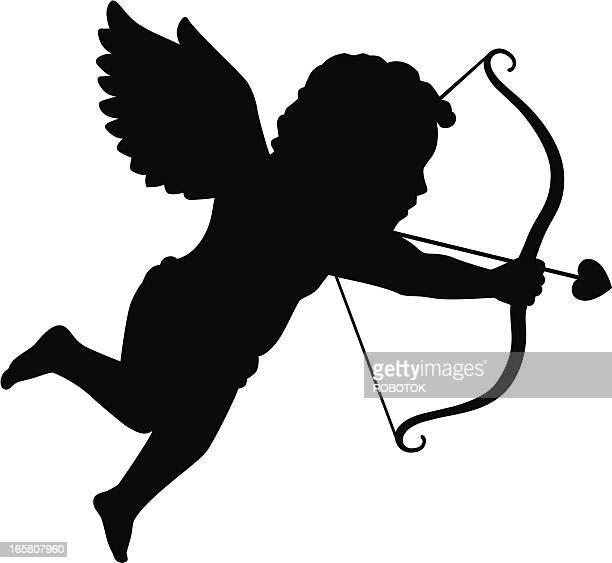 Silhouette der Cupid