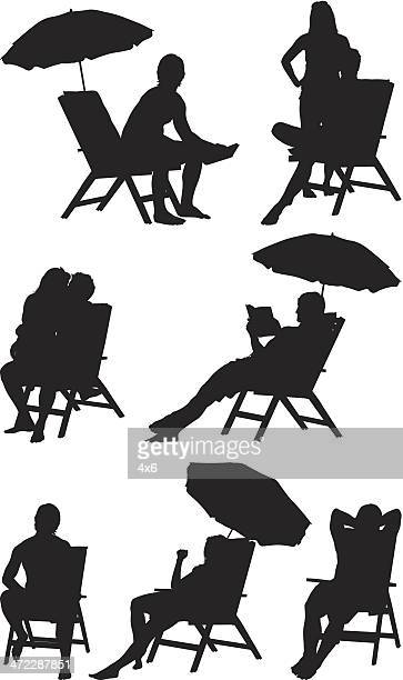 Outdoor Chair Stock Illustrations And Cartoons Getty Images