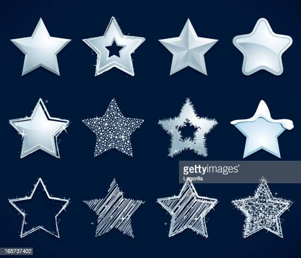 Silver Star icons