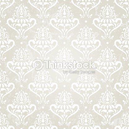 Plata vintage papel pintado arte vectorial thinkstock - Papel pintado plateado ...
