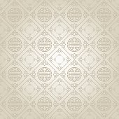 Silver Wallpaper Pattern. Asian style texture: Chinese, Japanese, Indian.  modern texture, geometric tiles, wallpaper pattern, background in retro style for your design placard, book, cover, design po