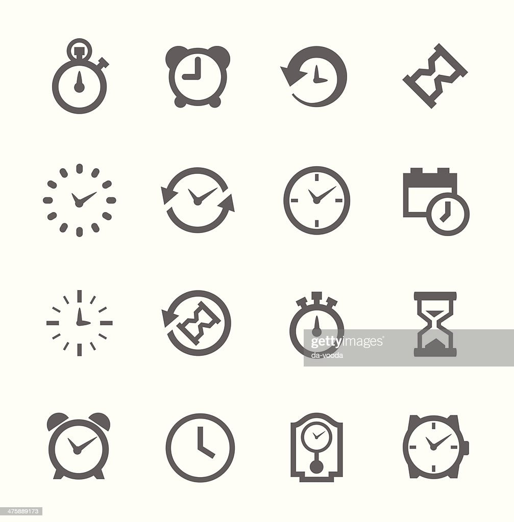 Collection Of Simple Black Line Beer Related Drawings Icons stock ...