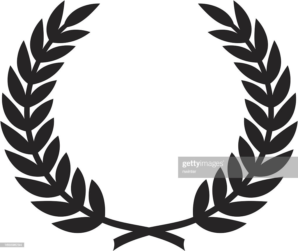Simple Laurel Wreath Vector Art | Getty Images