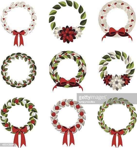 Simple Modern Wreaths