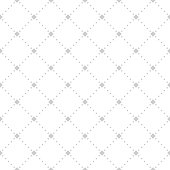 Simple seamless minimalistic pattern, repeating geometric vector background