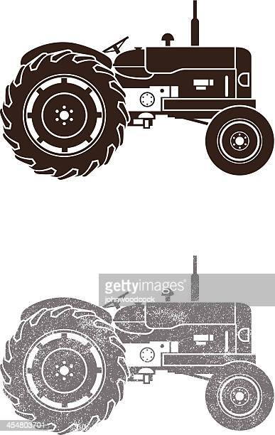 Small Tractor Cartoon : Tractor stock illustrations and cartoons getty images