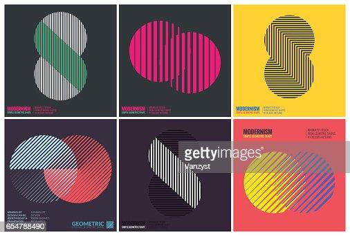 Simplicity Geometric Design : Vector Art