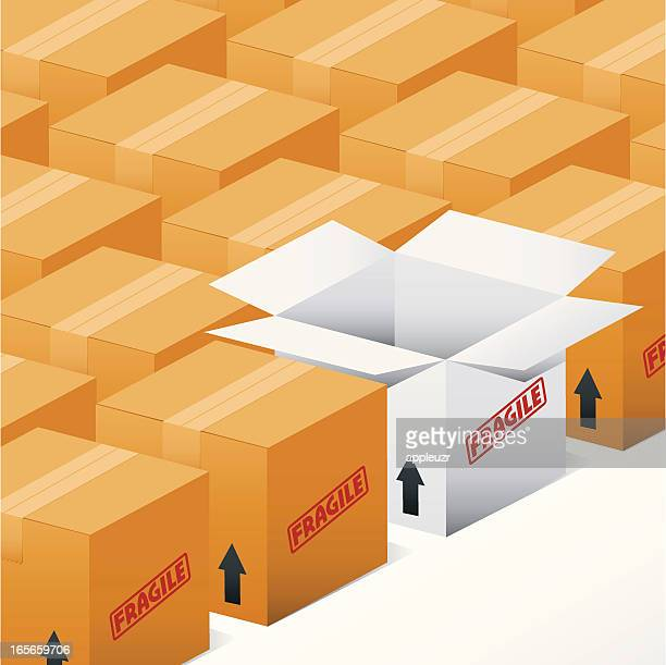 Single Open Box