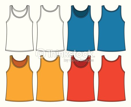 Singlets template front and back vector art thinkstock singlets template front and back vector art pronofoot35fo Images