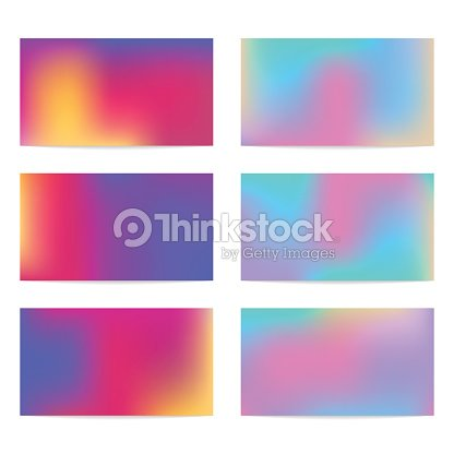 Six Templates For Business Cards Vector Art Thinkstock