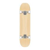 Skateboard template for your design. Vector realistic illustration EPS 10