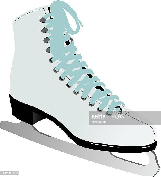 ice skate stock illustrations and cartoons