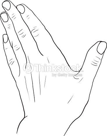 Croquis dessin de la main clipart vectoriel thinkstock - Dessin de la main ...