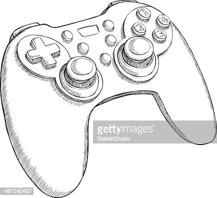xbox 360 game controller sketches