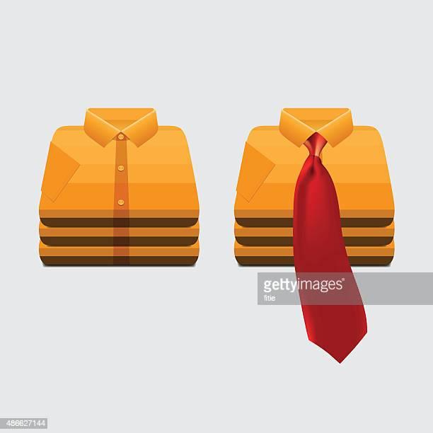 Falda y corbata