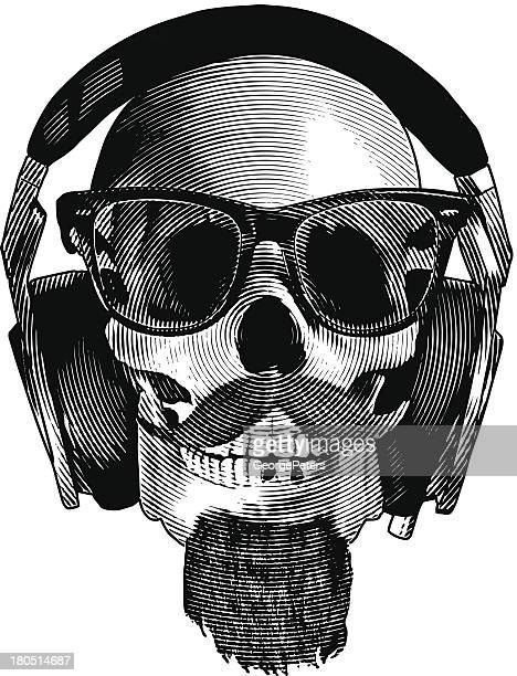 Cráneo Hipster auriculares