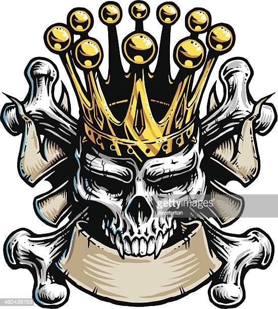 Cráneo con cama King