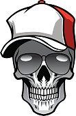 Crânio Com Chapéu E óculos De Sol Arte vetorial   Thinkstock c54ff50b84