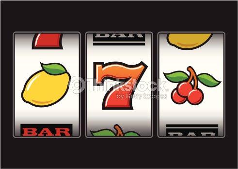 Simboli slot machine vettoriale