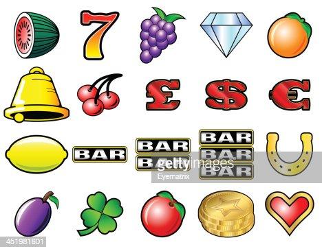 Slot Machine Icon Crossword Casino Electronic Simulation Software