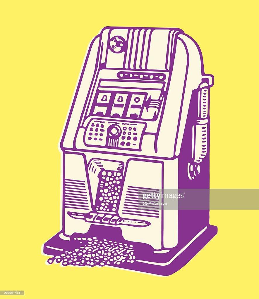 slot machine free vector