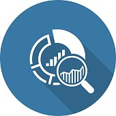 Small Data Icon. Flat Design. Business Concept. Isolated Illustration.