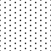 Small polka dot seamless pattern background