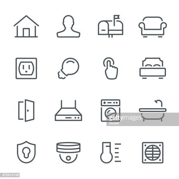 Smart Home-pictogrammen