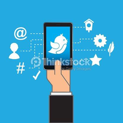 smartphone : stock vector